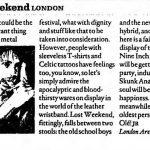 London – July 01 2000