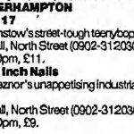 Wolverhampton – May 20 1994