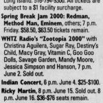 Uniondale – May 10 2000
