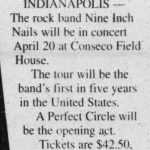 Indianapolis – April 20 2000