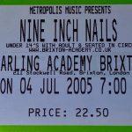 London – July 04 2005