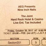 Las Vegas – October 20 2017