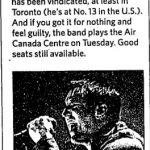 Toronto – August 05 2008