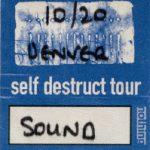 Denver – October 20 1994
