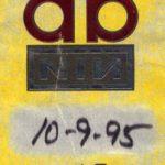 Atlanta – October 09 1995