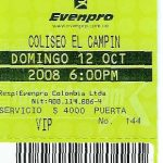 Bogota – October 12 2008
