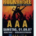 Konstanz – September 01 2007