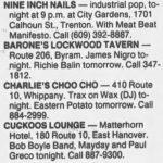 Trenton – July 13 1990