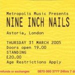 London – March 31 2005