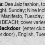Miami – July 03 1990