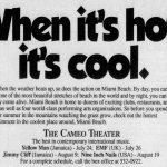 Miami – August 19 1991