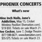 Phoenix – May 15 2009