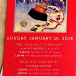 Los Angeles – January 26 2014