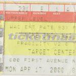 Minneapolis – April 17 2000
