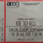 Birmingham – August 28 2007