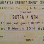 Newcastle – March 08 2014