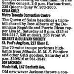 Toronto – December 01 1994