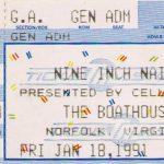 Norfolk – January 18 1991