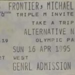 Melbourne – April 16 1995