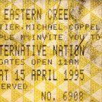 Sydney – April 15 1995