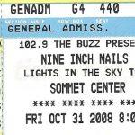 Nashville – October 31 2008