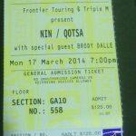Brisbane – March 17 2014