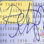 Philadelphia – April 12 1990