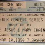 Boston – March 10 1990