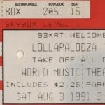 Chicago – August 03 1991