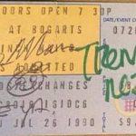 Cincinnati – July 26 1990