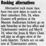 Detroit – March 16 1990