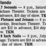 Orlando – July 6 1990