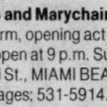 Miami Beach – February 18 1990