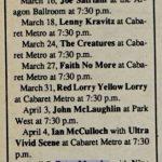 Chicago – April 07 1990 7:30 PM