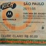 Sao Paulo – November 26 2005