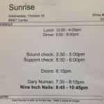 Sunrise – October 30 2013