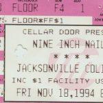 Jacksonville – November 18 1994