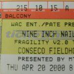 Indianapolis – April 20 2000