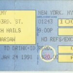 New York City – January 24 1991