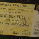 Sydney – August 19 2005