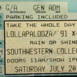 San Diego – July 20 1991