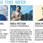 Adelaide – March 13 2014