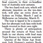 Melbourne – 15 March 2014