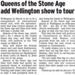 Wellington – March 20 2014