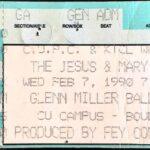 Boulder – February 7 1990
