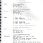 Charlotte – February 25 1990