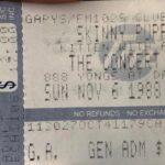 Toronto – November 06 1988